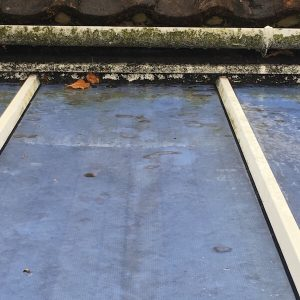 Conservatory Roof Cleaning Before