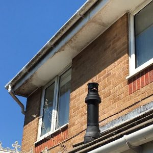 Fascia & Soffit Before